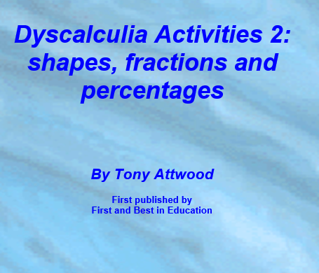 Dyscalculia activities 2: shapes, fractions, percentages