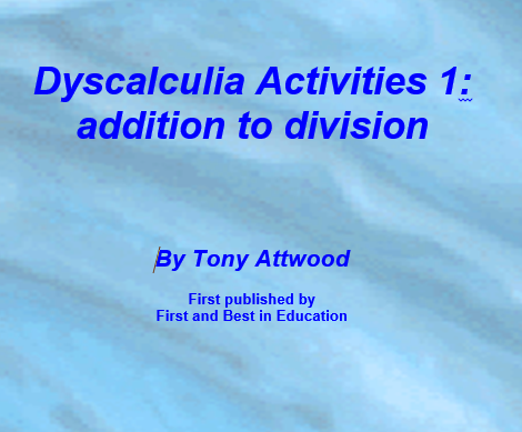 Dyscalculia activities 1: addition to division